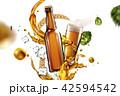 3Dイラスト ビール びんのイラスト 42594542