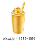 Mango ice shaved takeout cup 42594664
