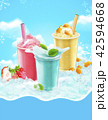 Summer ice shaved takeout cup 42594668
