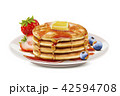 美味しい デザート 食のイラスト 42594708