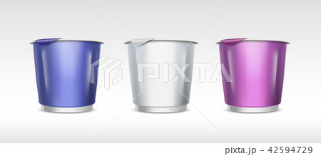 Food container cup set 42594729