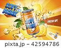 広告 飲み物 飲物のイラスト 42594786