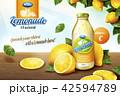 広告 宣伝 飲物のイラスト 42594789