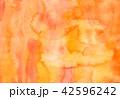 水彩 にじみ テクスチャーのイラスト 42596242