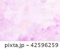 水彩 にじみ テクスチャーのイラスト 42596259