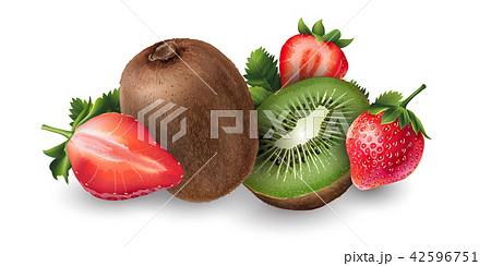 Strawberry and kiwi 42596751