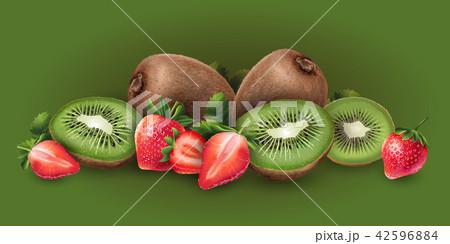 Strawberry and kiwi 42596884