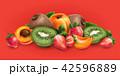 アプリコット アンズ 杏のイラスト 42596889