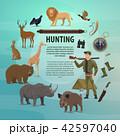 狩り 狩猟 狩のイラスト 42597040