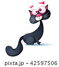 ねこ ネコ 猫のイラスト 42597506