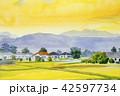 景色 風景 やまのイラスト 42597734