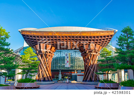 金沢駅 兼六園口 鼓門 42598301