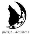 オオカミ ベクタ ベクターのイラスト 42598783