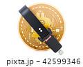 ビットコイン ベルト 仮想通貨のイラスト 42599346