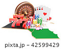 ギャンブル カジノ カジノののイラスト 42599429