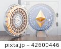 仮想通貨 金庫 立体のイラスト 42600446