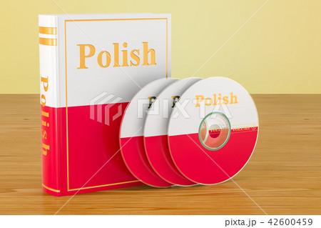 Polish language textbook with flag of Poland 42600459