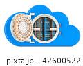 サーバラック コンピューティング クラウドのイラスト 42600522
