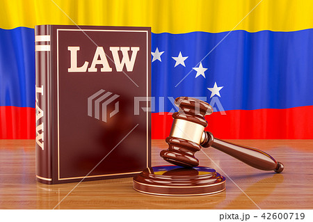 Venezuelan law and justice concept, 3D rendering 42600719