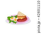 たまご 卵 玉子のイラスト 42601110