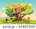 樹木 樹 ツリーのイラスト 42602949