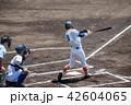 野球 高校生 選手の写真 42604065