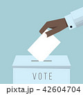 VOTE 投票 投票用紙のイラスト 42604704