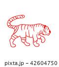 タイガー トラ 虎のイラスト 42604750