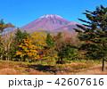 風景 富士山 山の写真 42607616