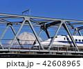 富士山 新幹線 乗り物の写真 42608965