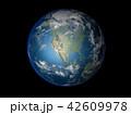 地球 CG アメリカのイラスト 42609978