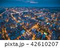 竹北市の空撮夜景 42610207