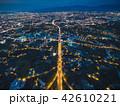 桃園市の空撮夜景 42610221