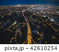 桃園市の空撮夜景 42610254