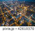 竹北市の空撮夜景 42610370