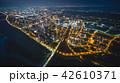 竹北市の空撮夜景 42610371