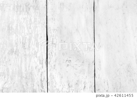 Close up rustic wood table with grain texture in v 42611455