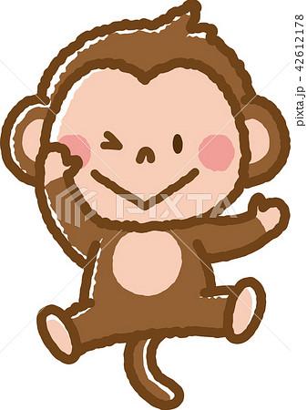 猿 2のイラスト素材