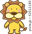 ライオン 動物 キャラクターのイラスト 42612180
