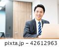 ビジネスマン ビジネス デスクワークの写真 42612963