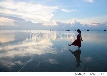 佐和田の浜 水鏡 42613513