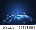 テクノロジー 抽象 ネットワークのイラスト 42613664