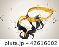 墨 墨汁 インクのイラスト 42616002