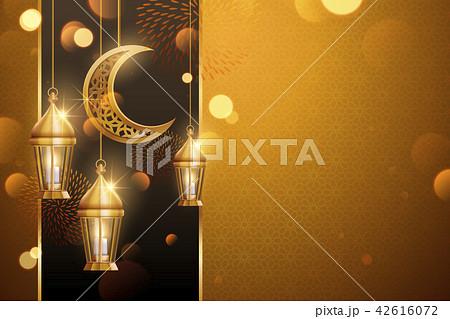 Islamic holiday background design 42616072