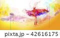 アート 芸術 バレリーナのイラスト 42616175