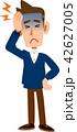 頭痛に苦しむ男性 42627005