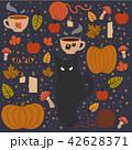 ハロウィン イラスト ベクタのイラスト 42628371