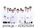 サイエンス 科学者 医者 科学 チーム 大人数 研究 女性 男性 42629264