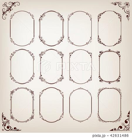 vintage circle frames 42631486