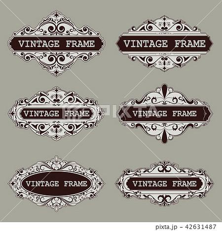 vintage circle frames 42631487